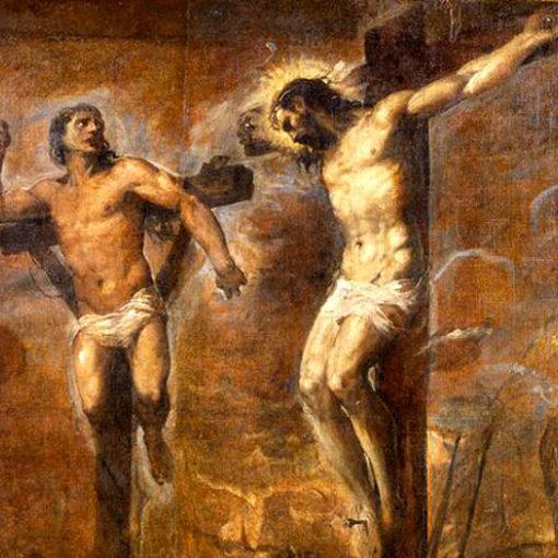 Gesu-e-buon-ladrone-Tiziano
